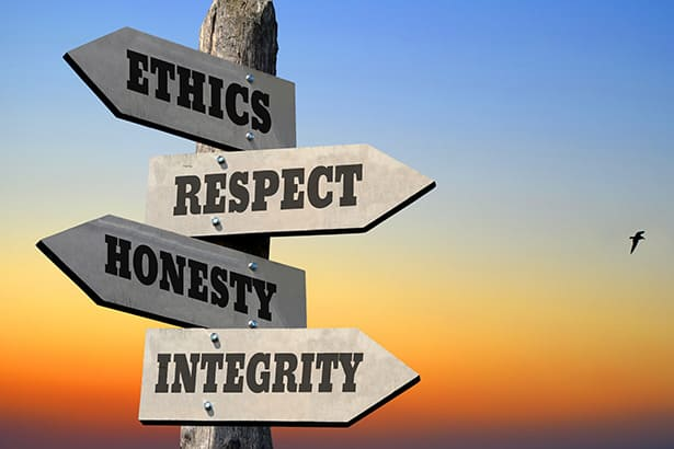 Ethics in Business – Got Me Thinking