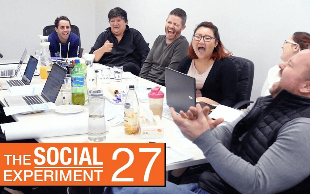 The Social Experiment 27 – The Blue Ray Effect