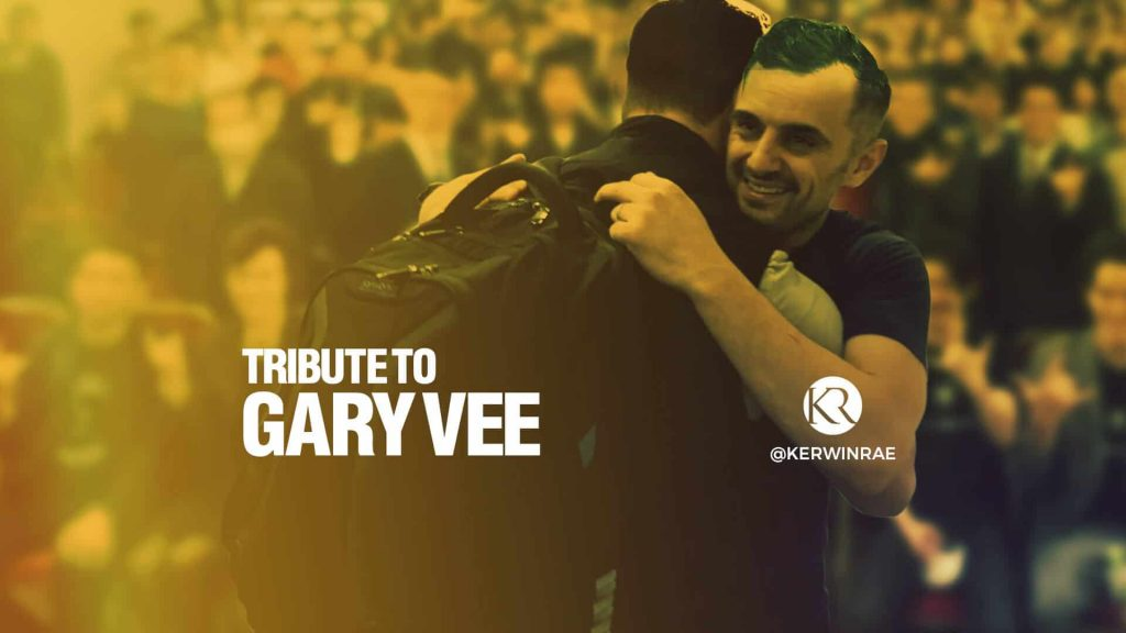 Thank you, Gary Vaynerchuk - you changed the game
