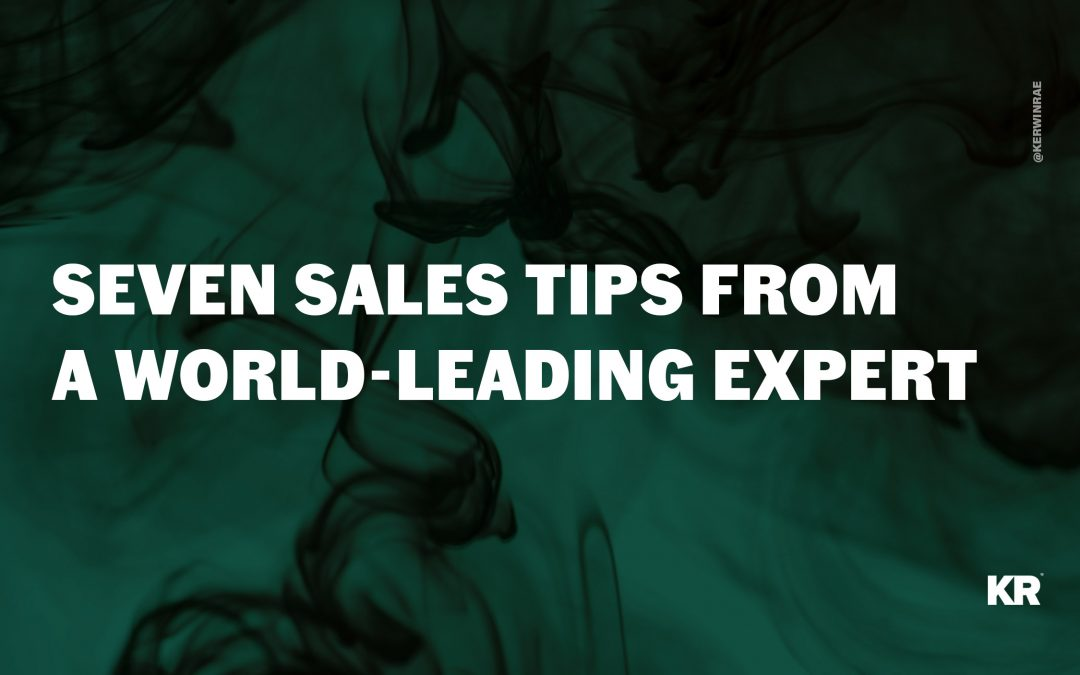 Seven sales tips from world-leading expert Tom Hopkins