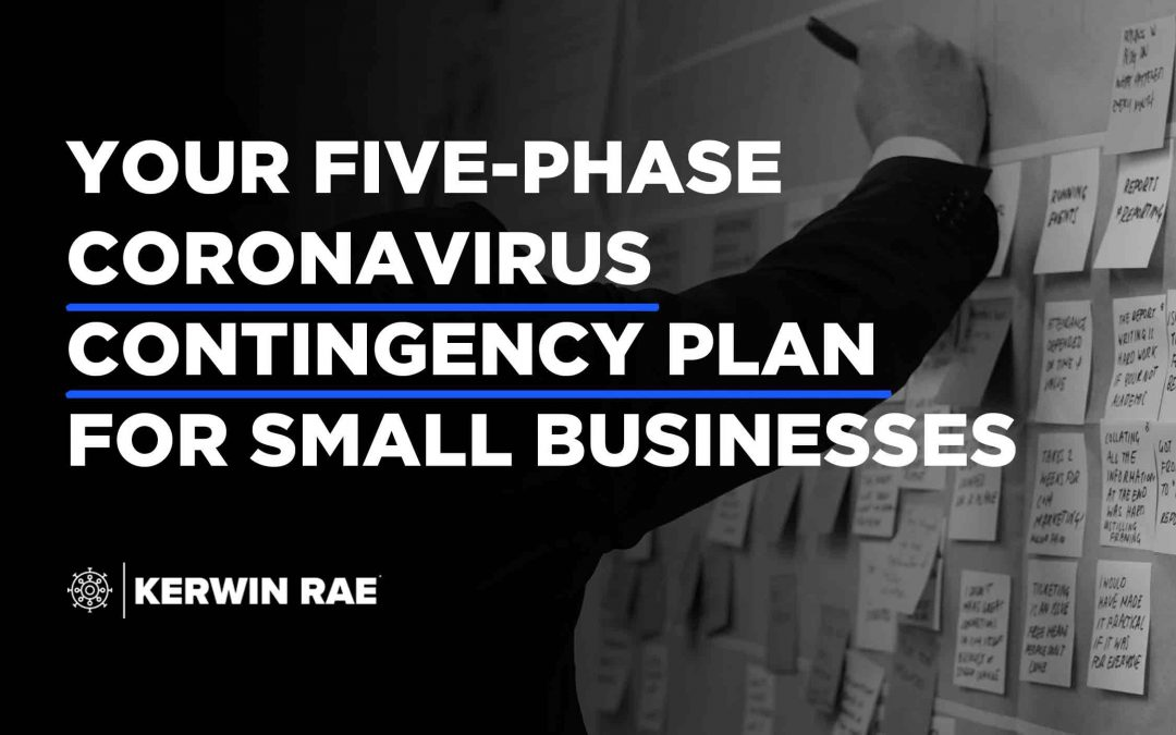 Your five-phase coronavirus contingency plan for small business